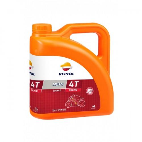 Моторное масло REPSOL MOTO RACING 4T 10W40 4л.