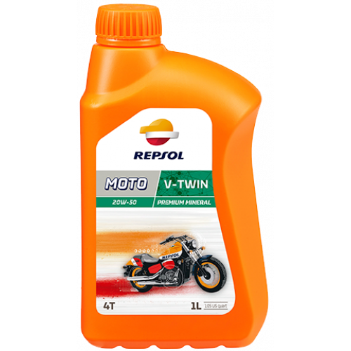 Моторное масло REPSOL MOTO V-TWIN 4T 20W50 1л.